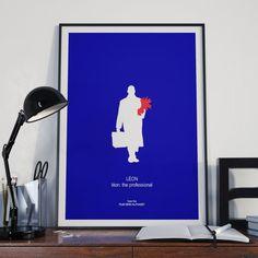 Mira este artículo en mi tienda de Etsy: https://www.etsy.com/es/listing/292618185/leon-the-professional-movie-print-poster
