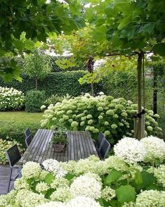 Garden design isn't only about earning your garden more attractive, but is also . Garden design isn't only about earning your garden more attractive, but is also essential in making it more functional. A little garden design differs. White Gardens, Small Gardens, Outdoor Gardens, Amazing Gardens, Beautiful Gardens, Design Jardin, Small Garden Design, House Garden Design, Garden Furniture Design