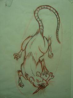 rat tattoo traditional - Buscar con Google