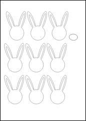 Πασχαλινό καλαθάκι: κουνελόκηπος-πατρον2 bunnies