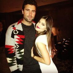Jenner siblings: Brody Jenner (31) with half-sister Kylie Jenner (17)