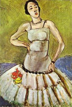The Ballet Dancer, Harmony in Grey - Matisse Henri