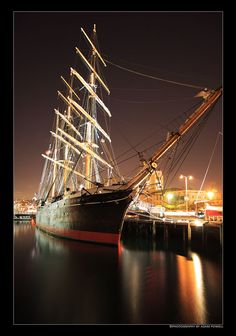 The Star of India at The Maritime Museum ~ San Diego, California