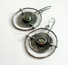 Big,labradorite,-,silver,earrings,Silver Earrings, Silver Earrings with Labradorite, Labradorite Earrings, Handmade  Jewellery, Art Jeweller...