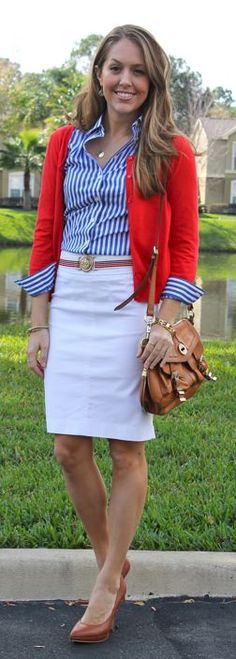 Red, White and Blue Essentials