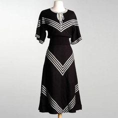'70s Wenjilli Sweater & Skirt S design inspiration on Fab.