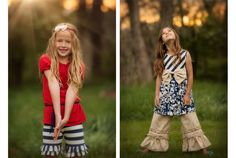 www.frostedproductions.com | #utah #commercial #photographer #cute #little #girls #summer #outfit #ideas #patriotic #colors #sunshine #green #grass