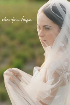 New collection Olive Farm Designs. Beautiful veils on its way :)