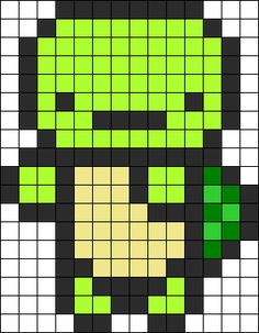 Turtle Perler Bead Pattern / Bead Sprite