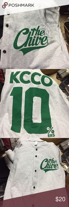 The Chive Baseball Shirt Rare and NWOT but ion up baseball shirt the Chive Shirts