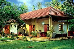 kerala traditional house with pond - Google Search Kerala Traditional House, Kerala House Design, Kerala Houses, My House, Farm House, Village Houses, My Dream Home, Pond, Gazebo