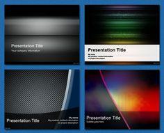 #Free #PowerPoint #Templates - Dark