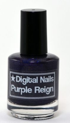 Purple Reign Digital Nails nail lacquer inspired by the graphic novel Saga. DigitalNails, $13.00