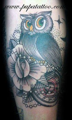 Tatuaje Buho Pupa tattoo Granada