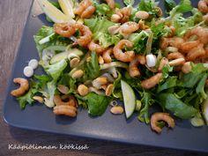 Kääpiölinnan köökissä: Thaimaalainen katkarapusalaatti