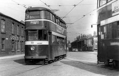 The photo shows Feltham 531 on Tong Road heading to Whingate whilst operating service a route which was duly abandoned in Leeds City, Light Rail, My Town, Old Photos, Abandoned, Britain, Past, Leeds Road, Buses