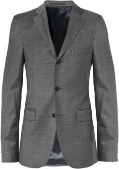 Acne Studios Grey Drifter Slim-Fit Wool Suit Jacket Expensive Suits, Wool Suit, Acne Studios, Suit Jacket, Trousers, Slim, Blazer, Grey, Fitness