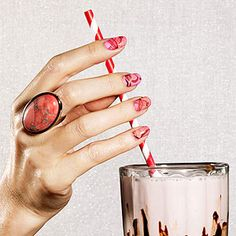 Marvelous Manicures. I'm totally going to try the Newspaper nails and Marbleized Mani. Fun!