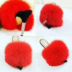 0131a8c9402 63 Best Real Fur slides slippers images in 2019
