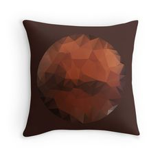 The Red Planet - A Faceted View of the Planet Mars --- Available as T-Shirts & Hoodies, Men's Apparels, Stickers, iPhone Cases, Samsung Galaxy Cases, Posters, Home Decors, Tote Bags, Prints, Cards, Kids Clothes, and iPad Cases