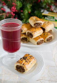 Mirabelkowy blog: Paszteciki z kaszą gryczaną i grzybami Polish Christmas, Polish Recipes, Eat, Ethnic Recipes, Kitchen, Fitness, Blog, Finger Food, Essen