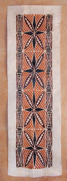 Cloths from The Pacific and Artwork - Tapa Cloths from the Pacific Polynesian Designs, Polynesian Art, Maori Designs, Polynesian Culture, Hawaiian Art, Hawaiian Tattoo, Hawaiian Designs, Tapas, African Design