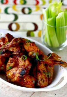 Sweety and spicy wings