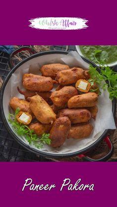 Paneer Pakora Recipes, Chaat Recipe, Snacks Recipes, Easy Snacks, Cooking Recipes, English Grammar, Teaching English, Yummy Yummy, Delicious Food
