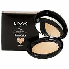 NYX Twin Cake Dupe for MAC Studio Fix Powder Plus Foundation(BEST Dupe EVER!)