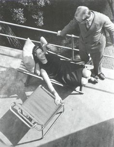Moholy-Nagy László: Bauhaus Balcony, Dessau, 1925