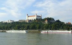The Danube in Bratislava, Slovakia Next Holiday, City Break, Bari, Weekend Getaways, Bratislava Slovakia, Castle, Tours, Paths, Countries