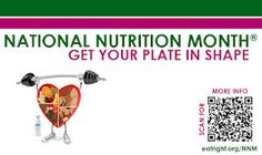 Celebrate National Nutrition Month® and get your plate in shape!