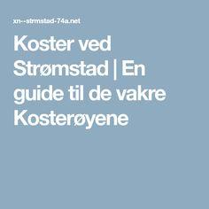 Koster ved Strømstad   En guide til de vakre Kosterøyene