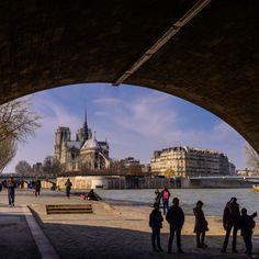 Notre Dame by Lari Huttunen - Purchase prints & digital downloads Sunny Sunday, Online Photo Gallery, Notre Dame, Photo Galleries, Louvre, Paris, Digital, Travel, Image