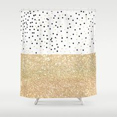 black white gold shower curtain. Gold And White Curtains  FIRST DATE Shower Curtain Dorm Room Decor Ideas How To Decorate A And