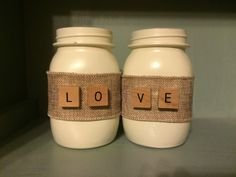 A personal favorite from my Etsy shop https://www.etsy.com/listing/469346379/love-jars