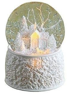 Wonderful Water Globes and Breathtaking Musical SnowGlobes for Christmas Decor
