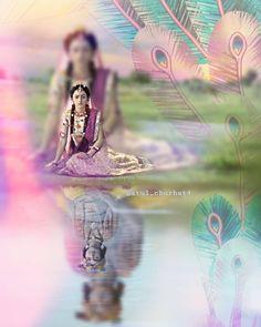 The essemcial love of Radha Krishna Radha Krishna Holi, Krishna Leela, Radha Krishna Love Quotes, Cute Krishna, Lord Krishna Images, Radha Krishna Pictures, Krishna Photos, Krishna Radha, Radhe Krishna Wallpapers