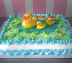 rubber ducky cake pictures | Rubber Ducky Cake