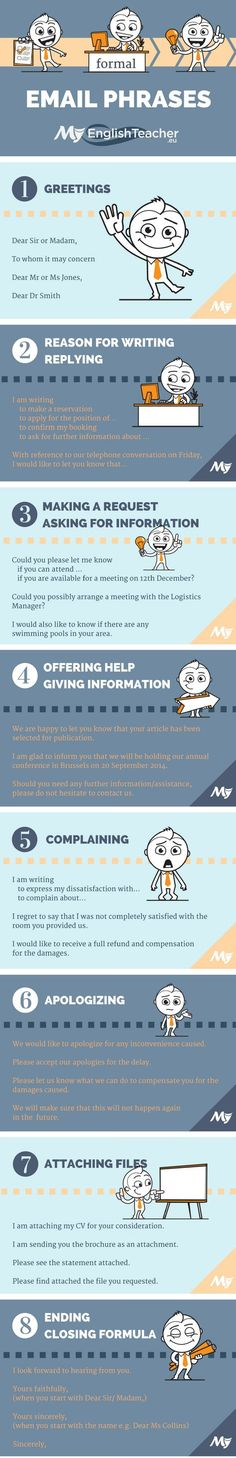 Formal and Informal Email Phrases – from Greetings to Closing Phrases!
