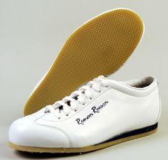 Roman Roosen Schuhe Sneaker handgefertigt aus Leder weiß  € 146,90  www.sportmarkenschuhe.de