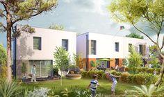 Les Villas de Kerlouarn à #Hennebont. Devenez propriétaire de votre maison d'une surface de 85 m², composée de 3 chambres, cellier et jardin. http://bit.ly/Kerlouarn