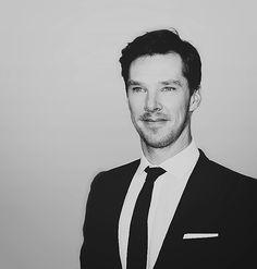 Benedict Cumberbatch--Scruffy Cumberbatch. I likey!