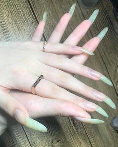 Long Natural Nails, Perfect Nails, Swag Nails, Nail Colors, Nail Art, Tattoos, Claws, Nail Ideas, Instagram