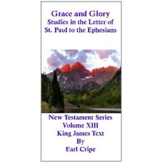 Grace and Glory - Biblical Commentary of the Book of Ephesians (New Testament Commentary) (Kindle Edition) http://www.amazon.com/dp/B0045Y1NC6/?tag=dismp4pla-20