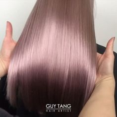 @hairbesties_ I am loving this Mauve Metallic color I created on my model @_tynun_ using all @kenraprofessional metallic colors - Silver, Violet & Bronze. It's still healthy & shiny because I used @olaplex in all the steps. Double tap if you like the video See you tomorrow at 9:50 am for #BTC #ColorShow @behindthechair_com #hairbesties for life!