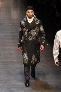 Dolce & Gabbana Fall Winter Menswear 2013 Milan
