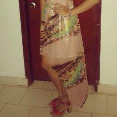 Vestido asimétrico #Outfit