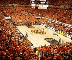 Gallagher-Iba Arena heaven on earth