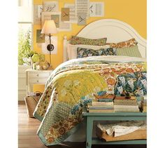 Scalloped Organic Patchwork Quilt & Sham | Pottery Barn